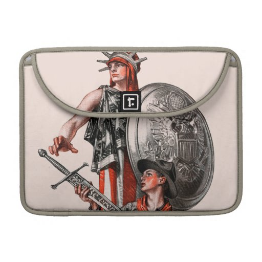 Boy Scout and Liberty Sleeves For MacBooks