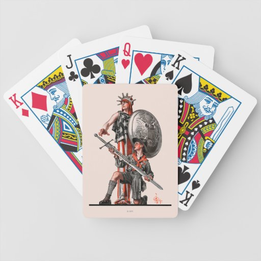 Boy Scout and Liberty Card Deck