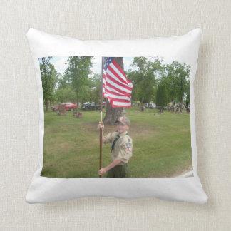 Boy scout pillow