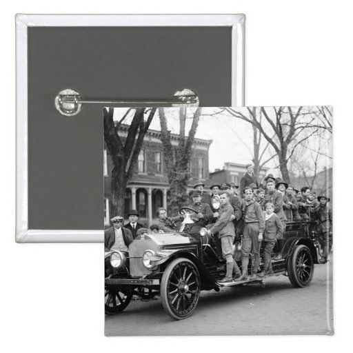Boy Scout Fire Drill, 1910s Pins