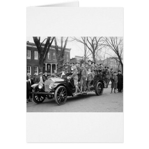 Boy Scout Fire Drill, 1910s Cards