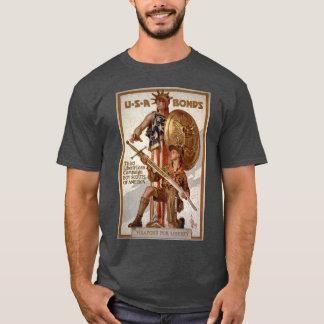 Boy Scout Liberty Loan Poster T-Shirt