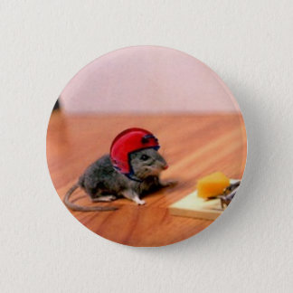 Boy Scout Mouse 6 Cm Round Badge