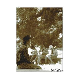 Boy Scouts Canvas Print