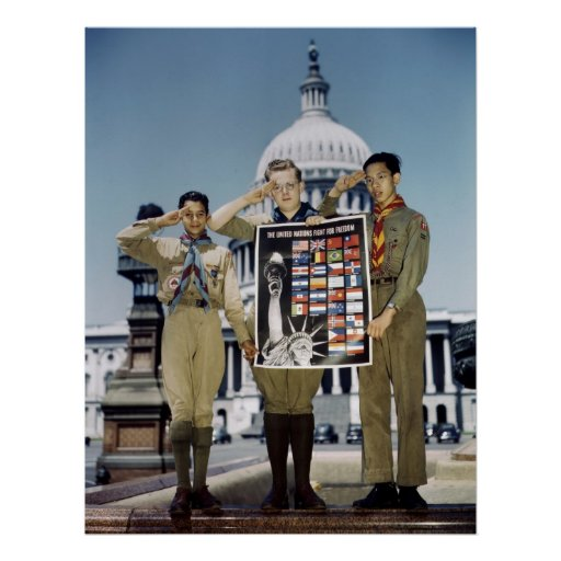 Boy Scouts in D.C., 1941 Posters