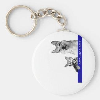Boy Shop Pets Discography Round Keychain