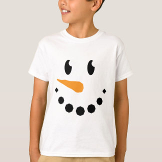 Boy Snowman T-shirt (Design 1)