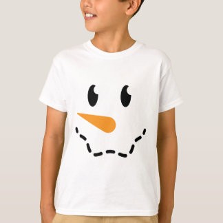 Boy Snowman T-shirt (Design 2)