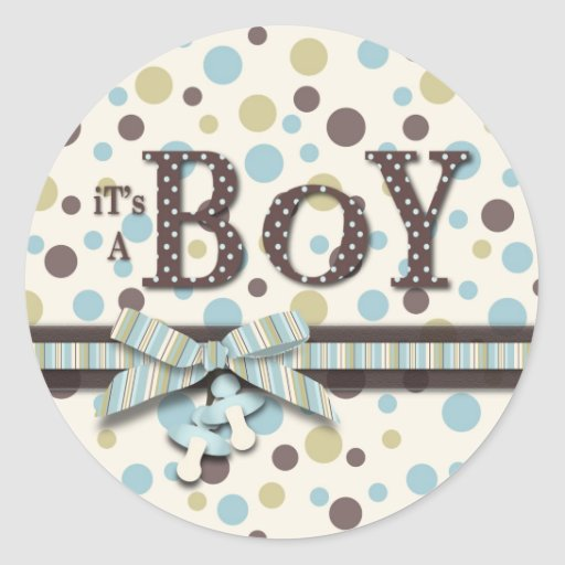 Boy Sticker