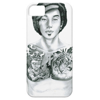 Boy tattoo Asia iPhone 5 Covers