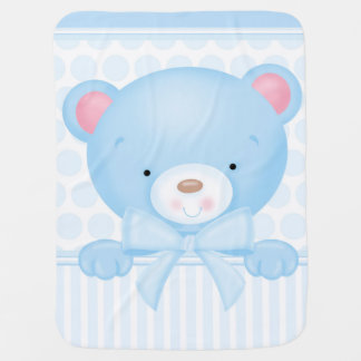 Boy Teddybear Blanket