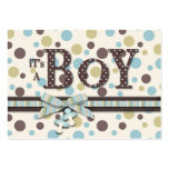Boy Thank You Note Business Card Template