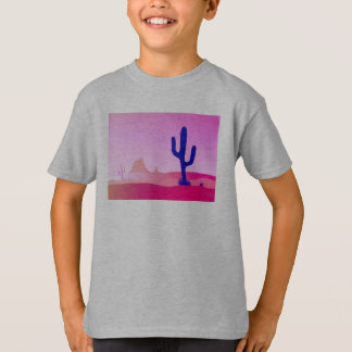 Boy tshirt : Pink arizona hand-drawn edition