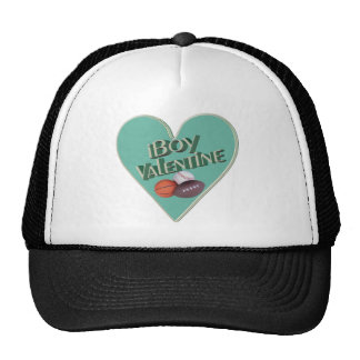 Boy Valentine T-shirts and Gifts Mesh Hats