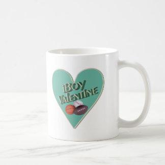 Boy Valentine T-shirts and Gifts Basic White Mug