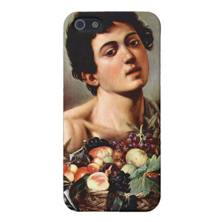 Boy with a Basket of Fruit, Caravaggio Cover For iPhone 5/5S