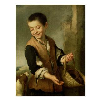 Boy with a Dog, c.1650 Postcard