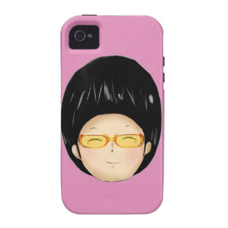 Boy with sunglass case for the iPhone 4