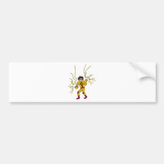 Boy Wonder KDT Super Hero Bumper Sticker