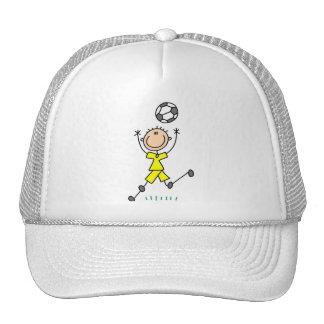Boy Yellow Soccer Uniform Cap