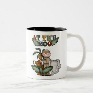 Boy Zoo Keeper Coffee Mugs