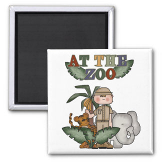 Boy Zoo Keeper Tshirts and Gifts Magnet