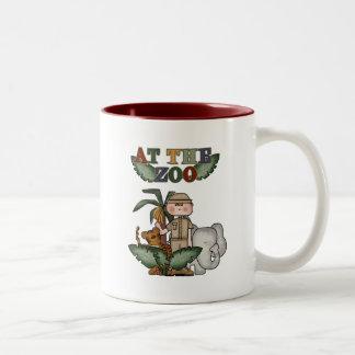 Boy Zoo Keeper Tshirts and Gifts Mug