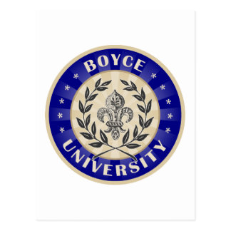 Boyce University Navy Postcard