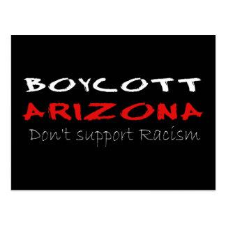 Boycott Arizona Postcard
