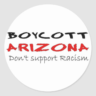 Boycott Arizona Sticker