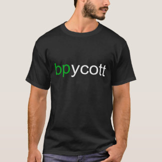 Boycott BP Basic Dark T-Shirt