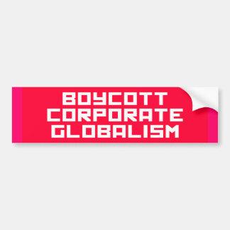 boycott bumper sticker