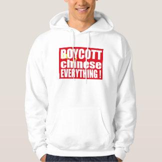 BOYCOTT chinese EVERYTHING - Free Tibet ! Hoodie