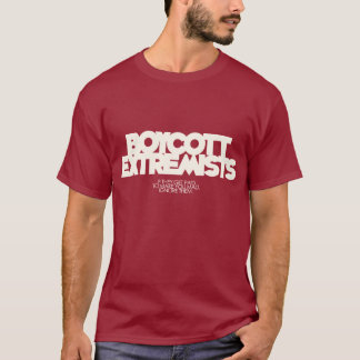 Boycott Extremists T-Shirt