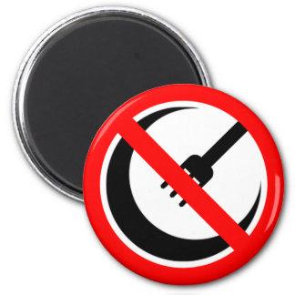 Boycott Halal Restaurants and Grocers 6 Cm Round Magnet