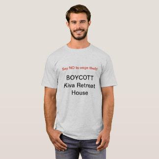 Boycott Kiva T-Shirt