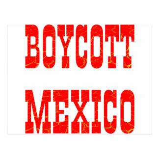 Boycott Mexico Postcard