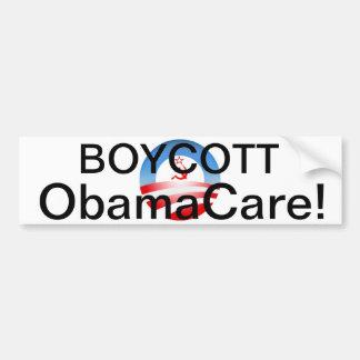 Boycott Obamacare! Bumper Sticker
