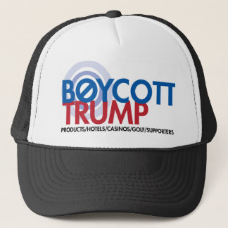 Boycott Trump Trucker Hat