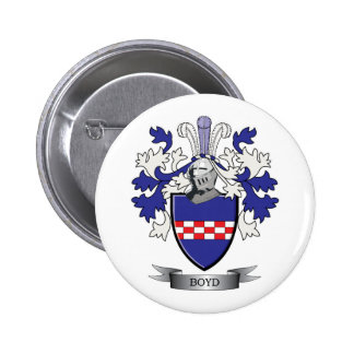 Boyd Family Crest Coat of Arms 6 Cm Round Badge