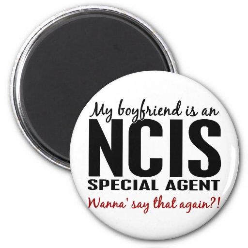 Boyfriend An NCIS Agent 1 Fridge Magnet