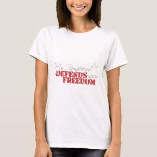 Boyfriend Defends Freedom T-Shirt