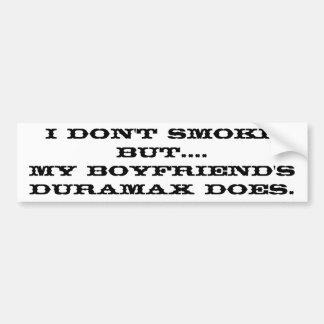 Boyfriend's Duramax Bumper Sticker