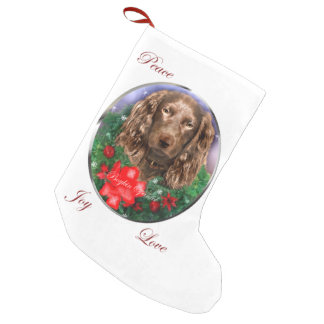 Boykin Spaniel Christmas Small Christmas Stocking