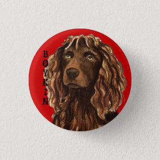Boykin Spaniel Color Block 3 Cm Round Badge