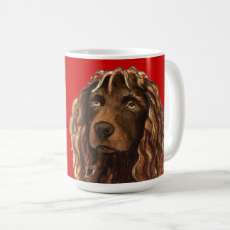 Boykin Spaniel Color Block Coffee Mug