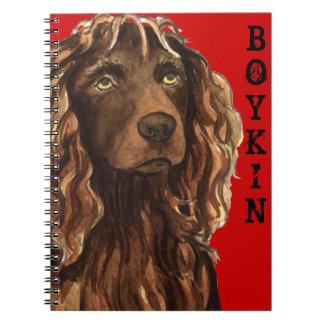 Boykin Spaniel Color Block Notebook