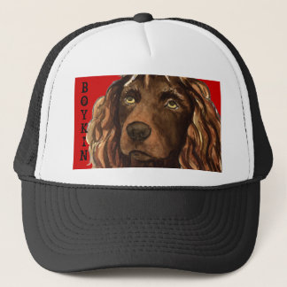 Boykin Spaniel Color Block Trucker Hat