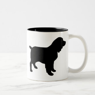 Boykin Spaniel Gear Two-Tone Coffee Mug