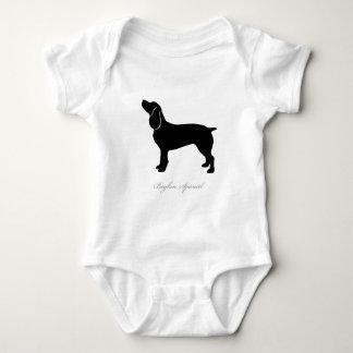 Boykin Spaniel silhouette Baby Bodysuit